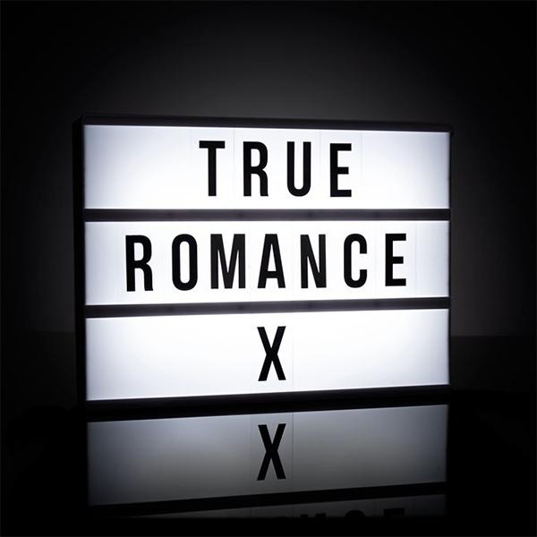 cinema lightbox true romance