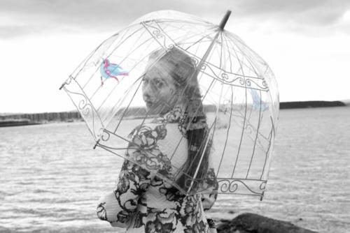 зонт купол прозрачный от lulu guinness
