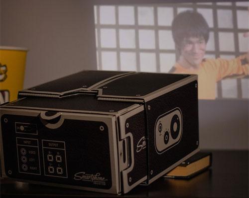 мини проектор для телефона
