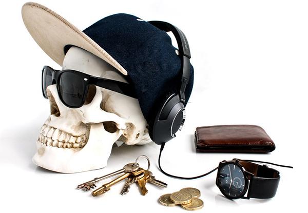 органайзер для мелочей череп