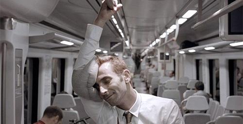 ostrich pillow mini в метро