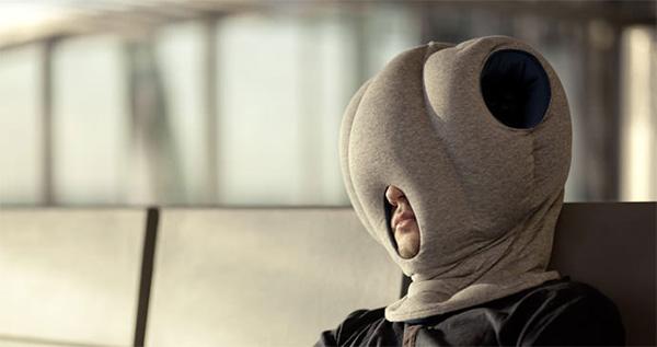 подушка ostrich pillow