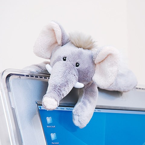 протиратель экрана слоник