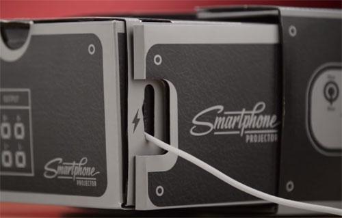 мини проектор для смартфона отверстие для питания
