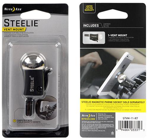 steelie vent mount магнитный держатель