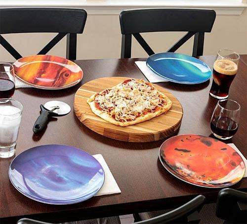 набор тарелок планеты солнечной системы