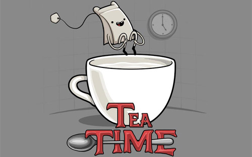 it is tea time