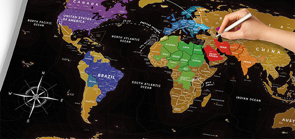 скретч карта traval map black shtooki